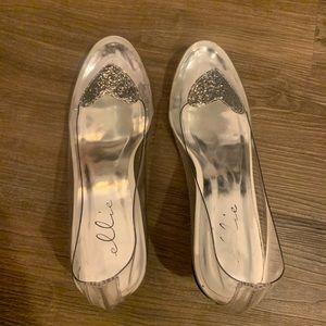 "Cinderella 2"" Heel Clear Slipper"